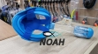 Полнолицевая маска Full Face Mask для снорклинга (цвет синий) 3