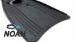 Ласты INTEX с закрытой пяткой для плавания, цвет черный 3