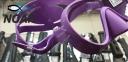 Маска Cressi F1 Frameless Lilac для плавания 1