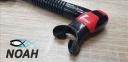 Трубка Cressi ITACA Ultra Dry, красная 2