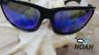 Очки CRESSI солнцезащитные MORFEO SHINY BLACK BLUE MIRRORED (made in Italy),  зеркальные синие 6