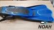 Ласты Cressi Palau SAF короткие с открытой пяткой, синие 6