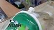 Полнолицевая маска Full Face Mask для снорклинга (цвет зеленый) 5