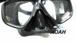 Маска Beuchat Mundial черная для подводной охоты 3