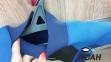 Гидрокостюм детский Konfidence Shorty Skin, синий 4