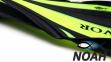 Ласты Dolvor F30 для плавания и дайвинга с открытой пяткой, желтые 3