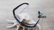 Очки CRESSI солнцезащитные MORFEO SHINY BLACK GREY MIRRORED (made in Italy),  зеркальные черные 4