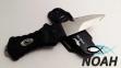 Нож подводный BS Diver Shark Dent (пластиковые ножны) 2