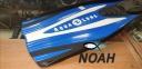 Ласты AquaLung Express с закрытой пяткой, синие 2
