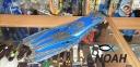 Ласты с открытой пяткой Zelart ZP-451 для плавания,  синий 3