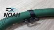 Трубка Bs Diver Tuna Green для подводной охоты, цвет зеленый 2