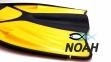 Ласты Verus Dive Expert Yellow с открытой пяткой для дайвинга 7