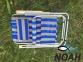 Кресло-шезлонг Ясень d20 мм текстилен сине-жёлтый (7134) 8