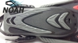 Ласты с открытой пяткой Zelart ZP-453 для плавания, цвет красный 5