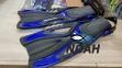 Ласты BS Diver GlideFin для снорклинга с открытой пяткой, синие 0
