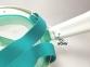 Маска Полнолицевая Bs Diver Profi Dry для снорклинга, зеленая 2
