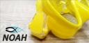 Маска Verus F1 DUO Yellow для плавания, желтая 2