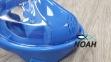 Полнолицевая детская маска Verus Free Breath KID для плавания, синий 4