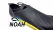 Ласты с закрытой пяткой Zelart ZP-439 для плавания, цвет желтый 5