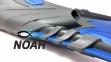 Ласты с закрытой пяткой Zelart ZP-444 для плавания, цвет синий  8