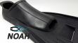 Ласты INTEX с закрытой пяткой для плавания, цвет черный 4