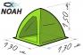 Палатка Лотос 1 для зимней рыбалки 0