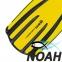 Ласты Mares Avanti Quattro + с открытой пяткой для плавания, цвет желтый 5