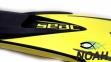 Ласты Seac Sub Speed для плавания, желтые 10
