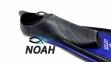 Ласты с закрытой пяткой Zelart ZP-439 для плавания, цвет синий 5