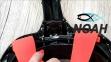 Маска полнолицевая Seac Sub Unica для плавания, черно-оранжевая 5
