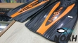 Ласты AquaLung Express с закрытой пяткой (черно-оранжевые) 2