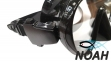 Маска Verus F1 Frameless Black для плавания 2