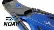 Ласты с закрытой пяткой Zelart ZP-444 для плавания, цвет синий  5