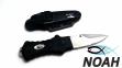 Нож подводный BS Diver Shark Dent (пластиковые ножны) 1