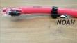 Трубка Marlin Dry Duo для плавания двухклапанная, розовая 2