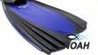 Ласты с закрытой пяткой Zelart ZP-439 для плавания, цвет синий 3