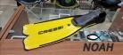 Ласты Cressi Rondinella yellow для плавания 0