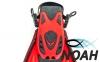 Ласты с открытой пяткой Zelart ZP-451 для плавания, цвет красный 4