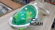 Полнолицевая маска Full Face Mask для снорклинга (цвет зеленый) 0