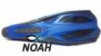 Ласты с закрытой пяткой Zelart ZP-444 для плавания, цвет синий  3