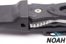 Нож SARGAN Сталкер-Стропорез Z1 с покрытием зеленый камуфляж для подводной охоты 6