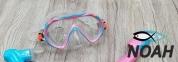 Детская маска Marlin Joy,  сине-розовая 3