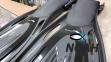Ласты BS-Diver Hydro-Channel для снорклинга с открытой пяткой, черные 3