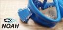 Маска Verus F1 DUO Blue для плавания, синяя 2