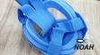 Полнолицевая детская маска Verus Free Breath KID для плавания, синий 7