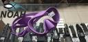 Маска Cressi F1 Frameless Lilac для плавания 0