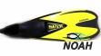 Ласты Seac Sub Speed для плавания, желтые 6