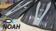 Ласты AquaLung Express с закрытой пяткой (черно-серые) 2