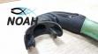Трубка Bs Diver FLEXA Green Soft для подводной охоты 4