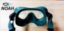 Маска Cressi F1 Frameless Green для плавания 3